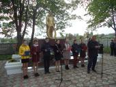 Торжественная церемония посвящённая Дню Великой Победы.