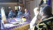 Соборне служіння духовенства Попільнянського району.
