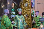 День святої Трійці у Спасо-Преображенському кафедральному соборі!