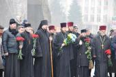 Священики єпархії взяли участь у святкуванні 204-ї річниці від Дня народження Тараса Григоровича Шевченко!