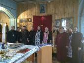Собрание  духовенства Коростышевского благочиния.