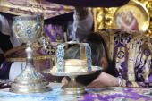 Неділя 4-та Великого посту. Божественна літургія у кафедральному храмі міста Житомира