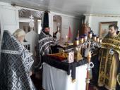 Священики Черняхівського округу соборно звершили літургію Григорія Двоєслова!
