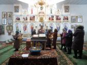 В Свято-Покровському храмі с. Курне відбулася Божественна літургія Напередосвячених Дарів!