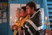 До таїнства Соборування приступили священики Андрушівського благочиння.