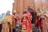 Відданя свята Пасхи. Архієрейська молитва в Озерному!