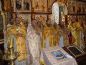 Благочинний  Бердичівського округу ієромонах Варфоломій (Бойков) молитовно відзначив День Ангела