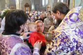 В день шанування преподобної Марії Єгипетської архієпископ Никодим звершив Божественну літургію у Спасо-Преображенському кафедральному соборі