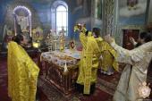 Митрополиче богослужіння у Свято-Успенському архієрейському соборі на Подолі!