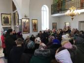 Громада Свято-Різдво-Богородичного храму с. Привітів засвідчила вірність УПЦ на чолі з Митрополитом Онуфрієм!