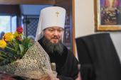 Митрополит Никодим привітав сестер Житомирського Свято-Анастасіївського монастиря із святом Христового Різдва!