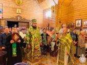 Нічна Божественна літургія з нагоди Престольного свята храму благовірних Петра і Февронії, що на території готельного комплексу Стара Губернія!