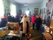 Православні віруючі с. Маркушів зустріли мощі святителя Спиридона, єпископа Триміфунтського!