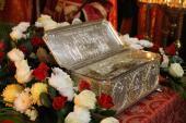 Мощі великомученика Димитрія Солунського зустріли у Житомирській єпархії!