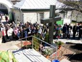 На Вербну Неділю духовенство та прихожани Свято-Успенського архієрейського собору м. Житомира молились разом за мир в Україні