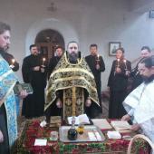Священики Житомирської районного благочиння приступили до таїнства Соборування
