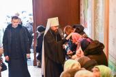 У неділю після Богоявлення митрополит Никодим звершив Божественну літургію у Спасо-Преображенському кафедральному соборі міста Житомира.