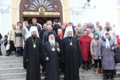 Три митрополити звершили Божествеургію у кафедральному соборі м. Житомира в день шанування святого великомученика Димитрія Солунського!