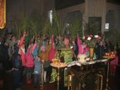 З молитвою за мир в Україні відбулись літургії на свято Входу Господнього до Єрусалиму у храмах Ружинщини!