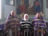 Состоялась Литургия святителя Григория Двоеслова
