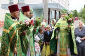 Престольне свято у лікарняному храмі
