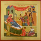 Неплоды раждает Богородицу.