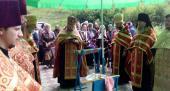 Щорічне освячення води в селі Роганці.