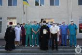 Митрополит Никодим передав вартісний медичний монітор для потреб Житомирської лікарні ім. В. П. Павлусенка!