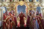 Третій день Пасхи: Божественна літургія у Тригірському монастирі.