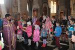 Молебень для дітей воскресної школи