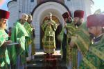 Богослужіння у день пам'яті прп. Сергія ігумена Радонежського.