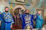 В день шанування Почаївської ікони Божої Матері митрополит Никодим звершив Божественну літургію у Свято-Успенському архієрейському соборі!