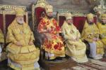 Три архієреї звершили воскресну літургію у головному соборі Житомирської єпархії.