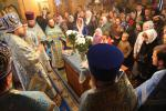Освячення Свято-Покровського храму у Заремлі.