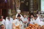 Троїцька Батьківська субота. Архієпископ Никодим очолив літургію у Свято-Успенському соборі на Подолі!