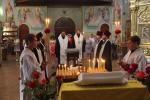 Кривий Ріг. Архієпископ Никодим звершив панахиду і помолився за упокій свого батька.