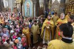 Божественна літургія та молебень для школярів у кафедральному соборі!