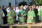 КИЇВ. Архієпископ Никодим привітав Блаженнішого Митрополита Онуфрія із Днем Анела.