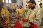Архієпископ Никодим звершив чин освячення Антимінсів.