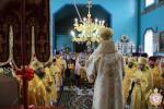 Сповідь духовенства Новоград-Волинського благочиння. Архієрейське богослужіння у Свято-Іоанно-Богословському храмі с. Мала Горбаша.