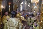 Архієпископ Никодим очолив недільну літургію у Спасо-Преображенському кафедральному соборі м. Житомира!