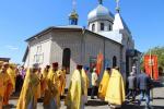 Архієрейська літургія в Свято-Миколаївському храмі смт. Пулин.