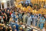 Фасова. Митрополит Никодим взяв участь в звершенні святкового богослужіння з нагоди шанування ікони Божої Матері «Услишательниця»
