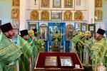 Дерганівка. Митрополит Никодим очолив Божественну літургію у Різдво-Богородичному храмі!
