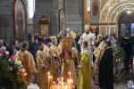 У неділю перед Богоявленням митрополит Никодим звершив Божественну літургію у Спасо-Преображенському кафедральному соборі міста Житомира.