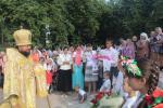 В день пам'яті рівноапостольної княгині Ольги архієпископ Никодим очолив літургію у Свято-Ольгинському храмі обласного центру.