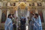 Літургія у Свято-Покровському храмі міста Новоград-Волинський.
