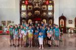Житомирська єпархія УПЦ вкотре організувала православний табір для знедолених дітей.