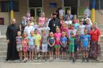 Архієпископ Никодим відвідав діточок у православному таборі.